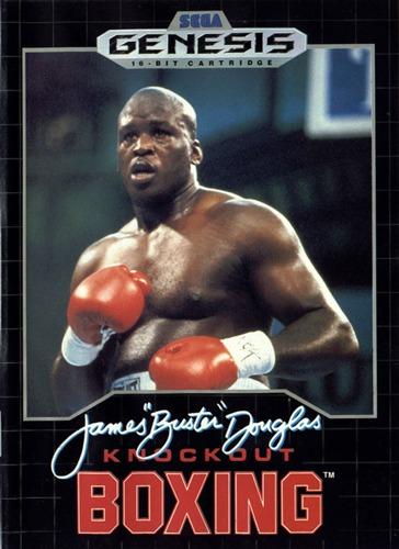 James Buster Douglas Boxing