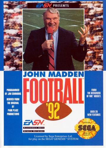 John Madden NFL 92