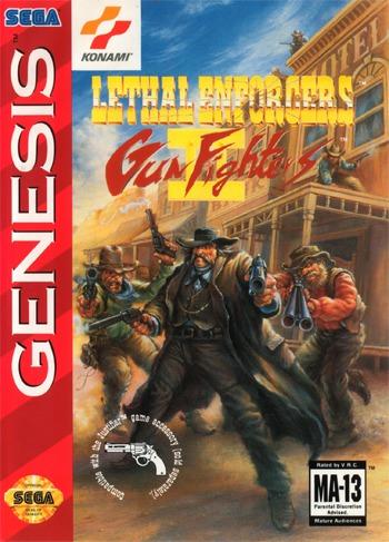 Lethal Enforcers 2 Gunfighters