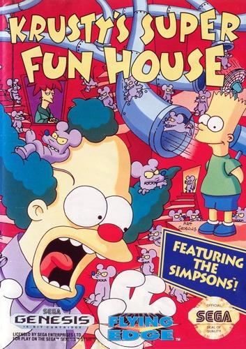 Krustys Super Fun House