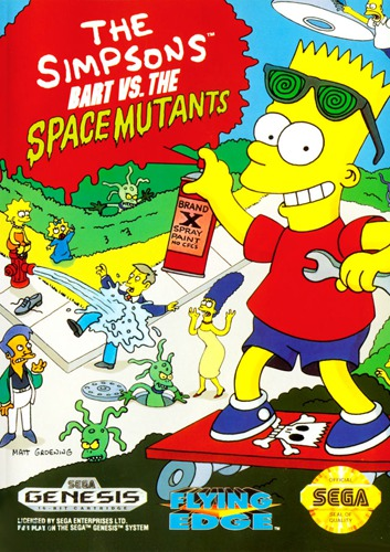 Simpsons Bart vs Space Mutants