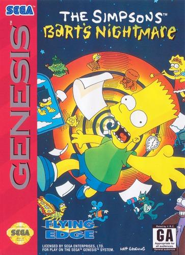 Simpsons: Barts Nightmare