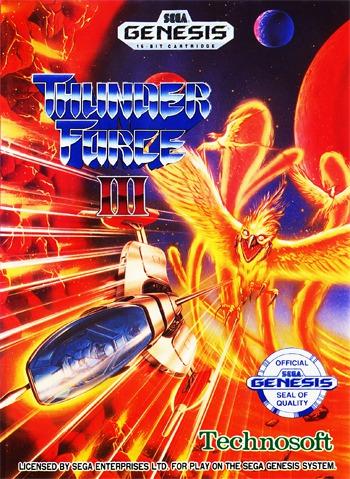 Thunder Force III 3