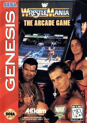 Wrestlemania: The Arcade Game