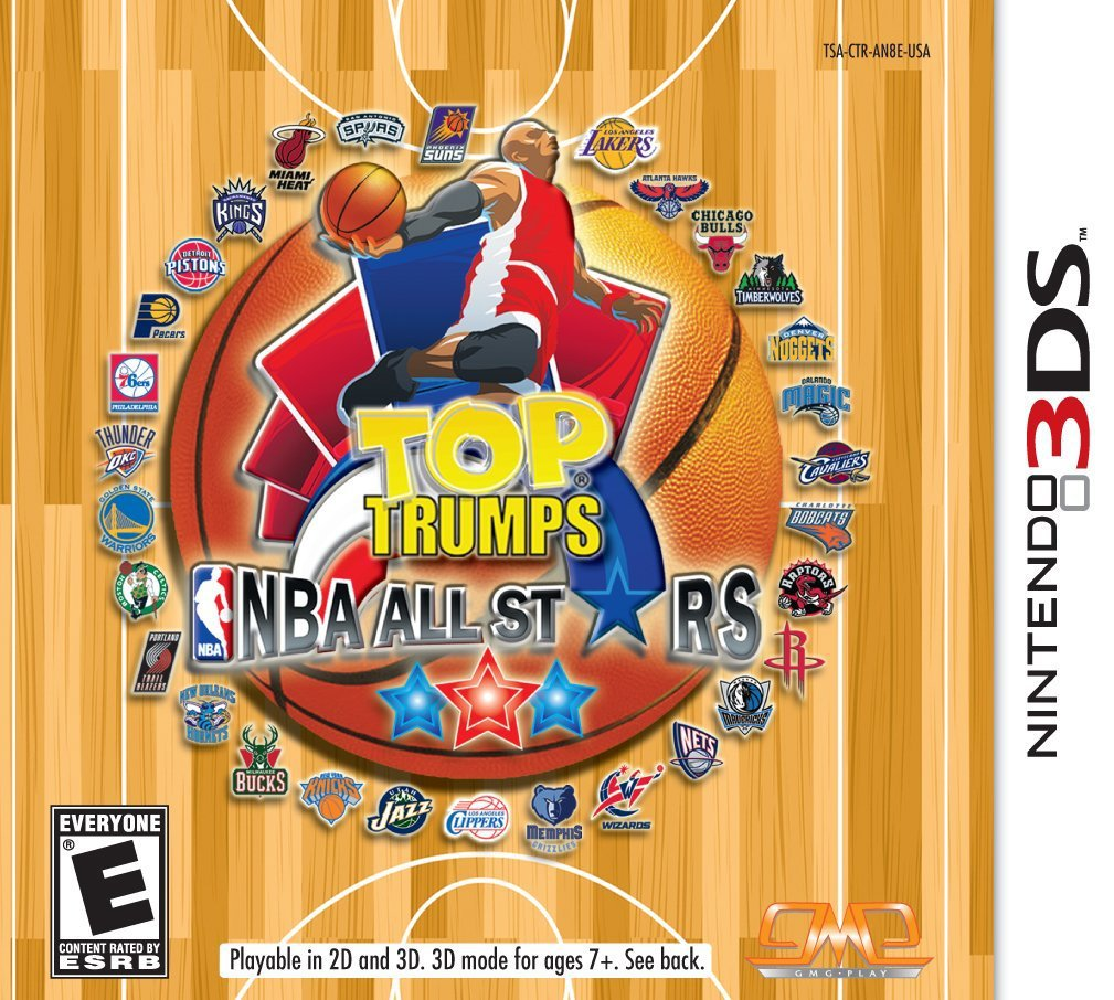 NBA All Stars Top Trumps