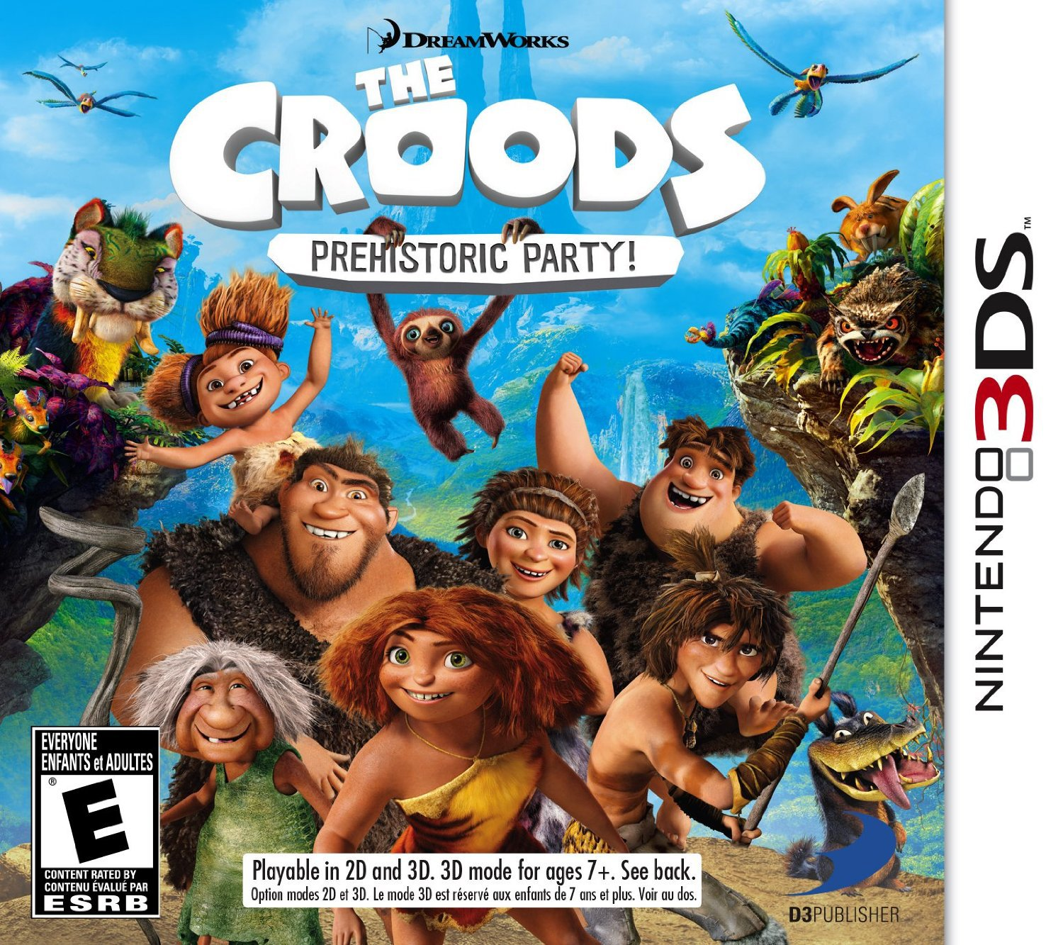 Croods, The Prehistoric Party