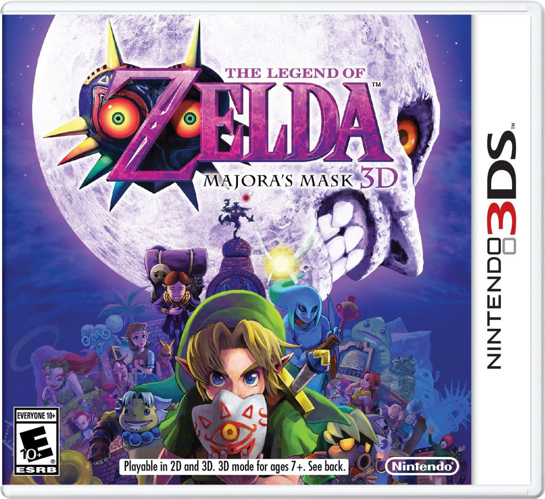 Zelda: Majoras Mask 3D