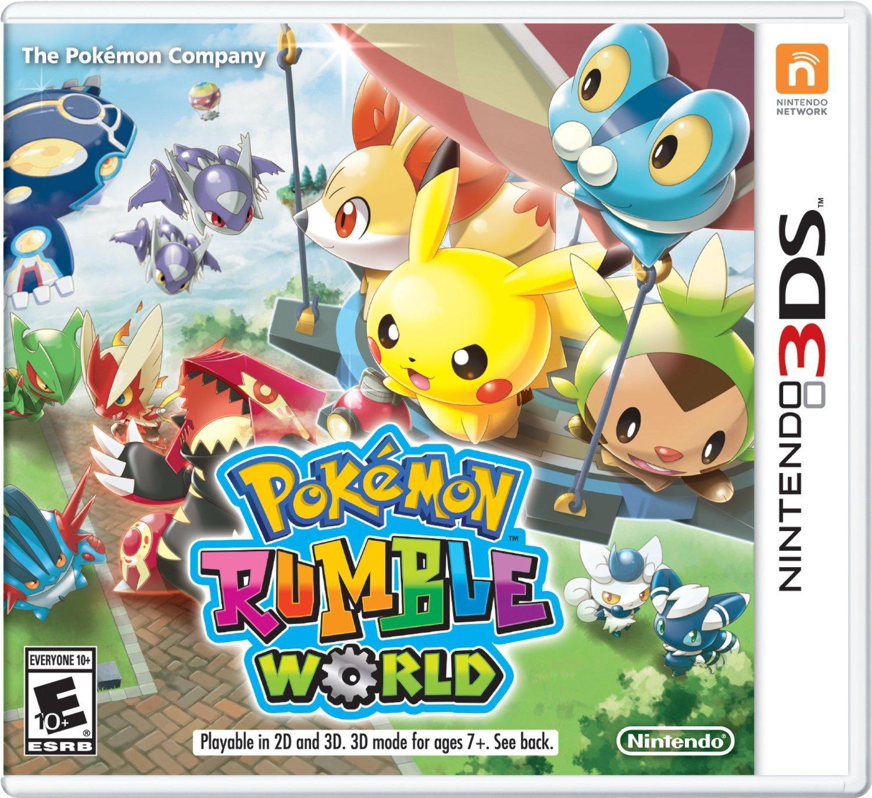 Pokemon Rumble World 3D