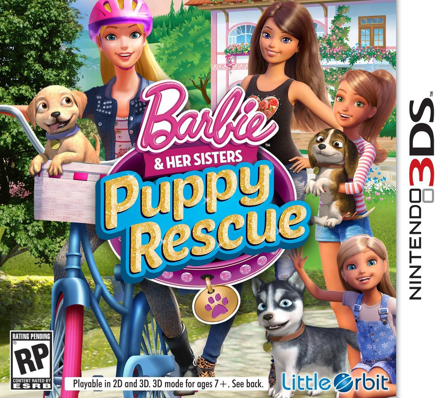Barbie & Her Sisters Puppy