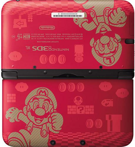 Mario 3DS XL Console