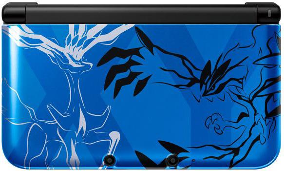 Pokemon X & Y 3DS XL Console