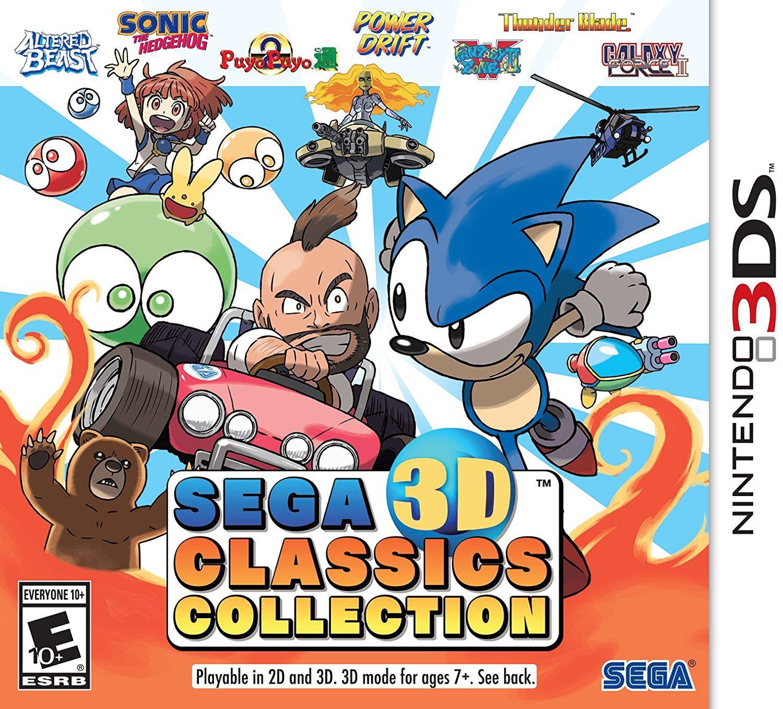 Sega 3D Classics Collections
