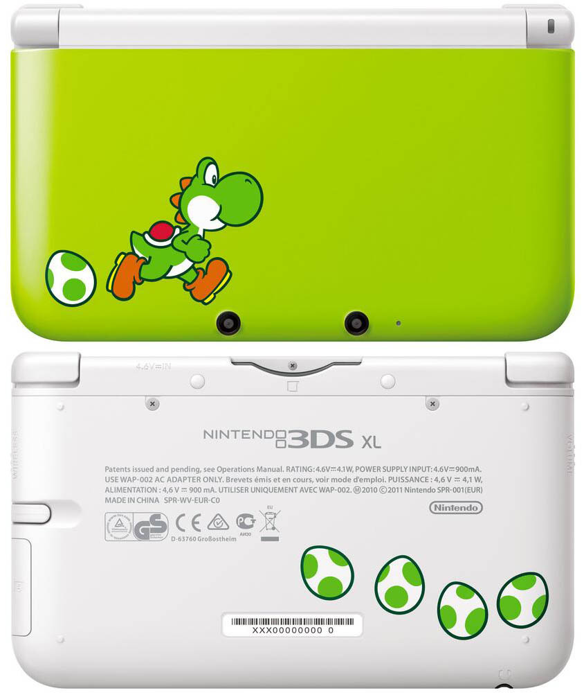 Yoshi 3DS XL Console Only