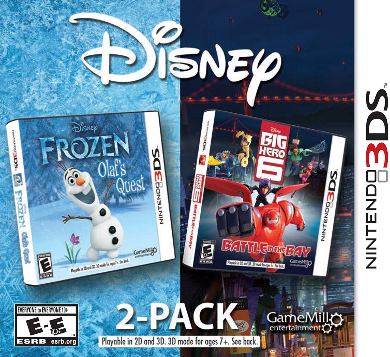 Frozen & Big Hero 6 2 Pack