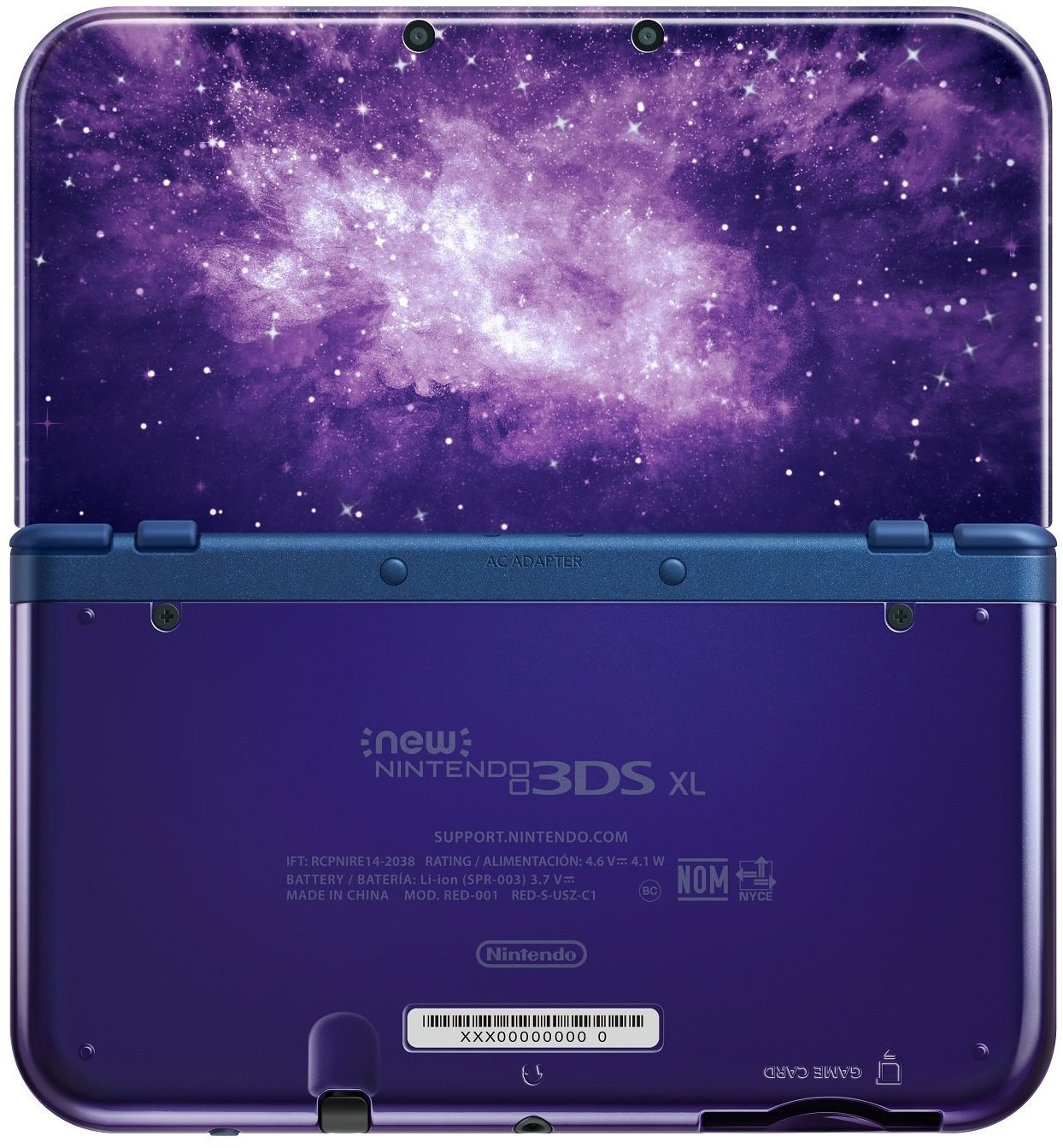 NEW 3DS Console Galaxy Bundle