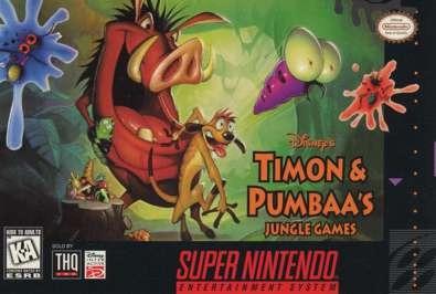 Timon & Pumbaas: Jungle Games