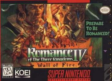 Romance Three Kingdoms IV 4