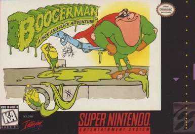 Boogerman: A Pick and Flick