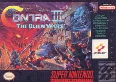Contra III 3: The Alien Wars