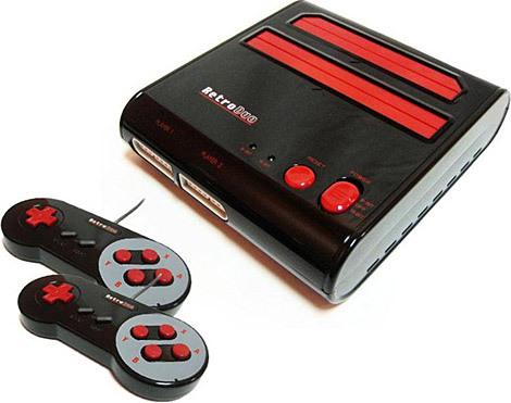 Retro Duo Console