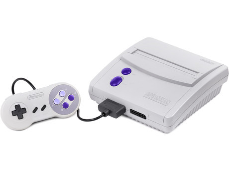 Compact SNES Console Bundle