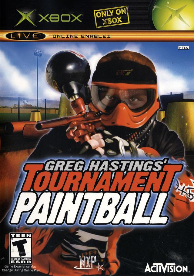 Greg Hastings Paintball
