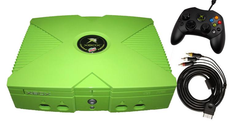 Mt Dew Xbox Console Bundle