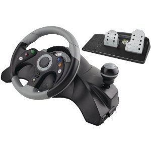 Wired Xbox 360 Steering Wheel