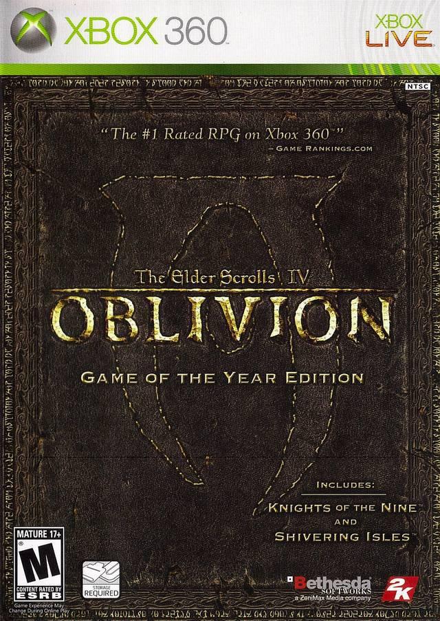 Elder Scrolls IV: Oblivion