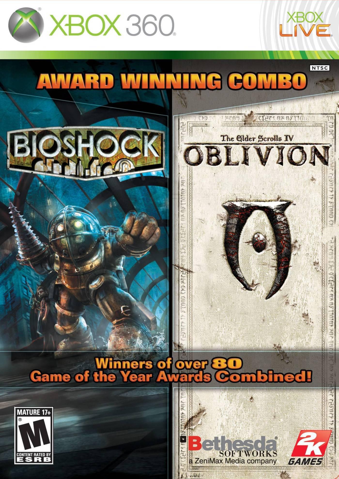 Bioshock & Oblivion