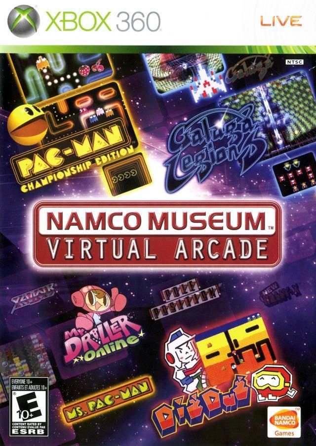 Namco Museum Virtual Arcade