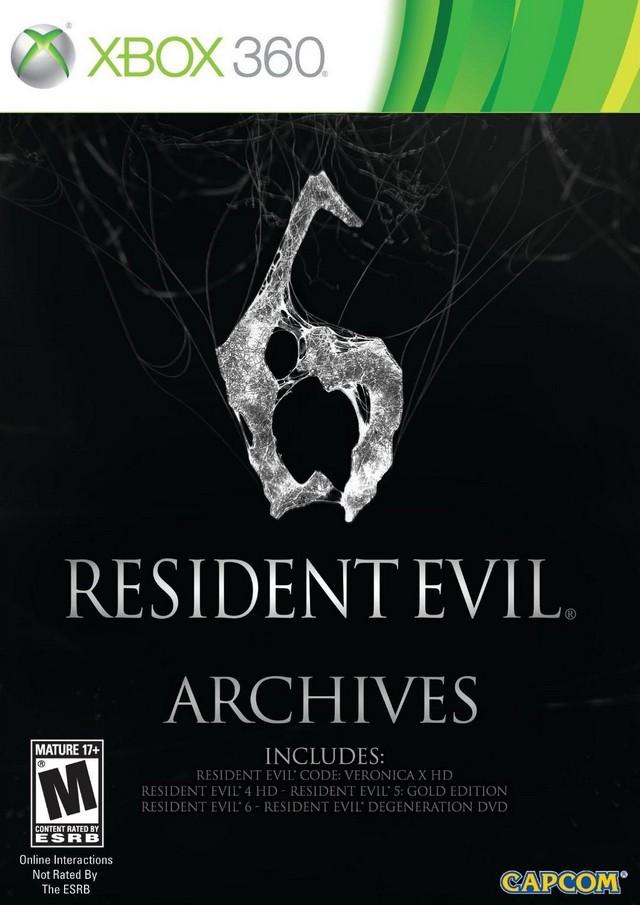Resident Evil 6: Archives