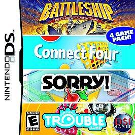 Battleship, Connect 4, Sorry!