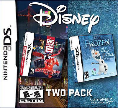 Frozen & Big Hero 6 - 2 Pack