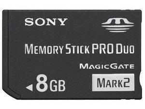 Memory Stick Pro Duo - 8.0 GB