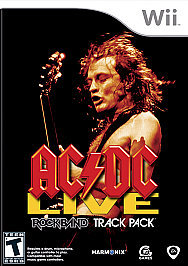 Rock Band AC DC Track Pack