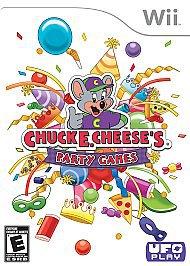 Chuck E Cheeses Party Games