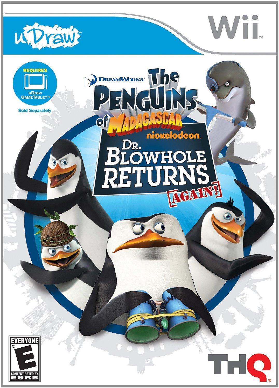 uDraw: Penguins of Madagascar