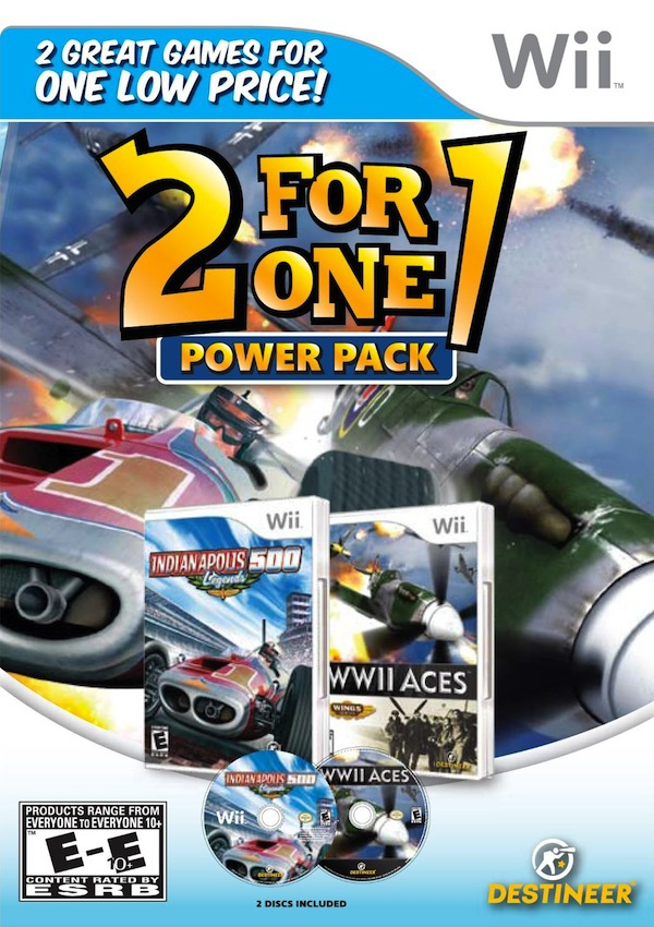 2 for 1 Power Pack