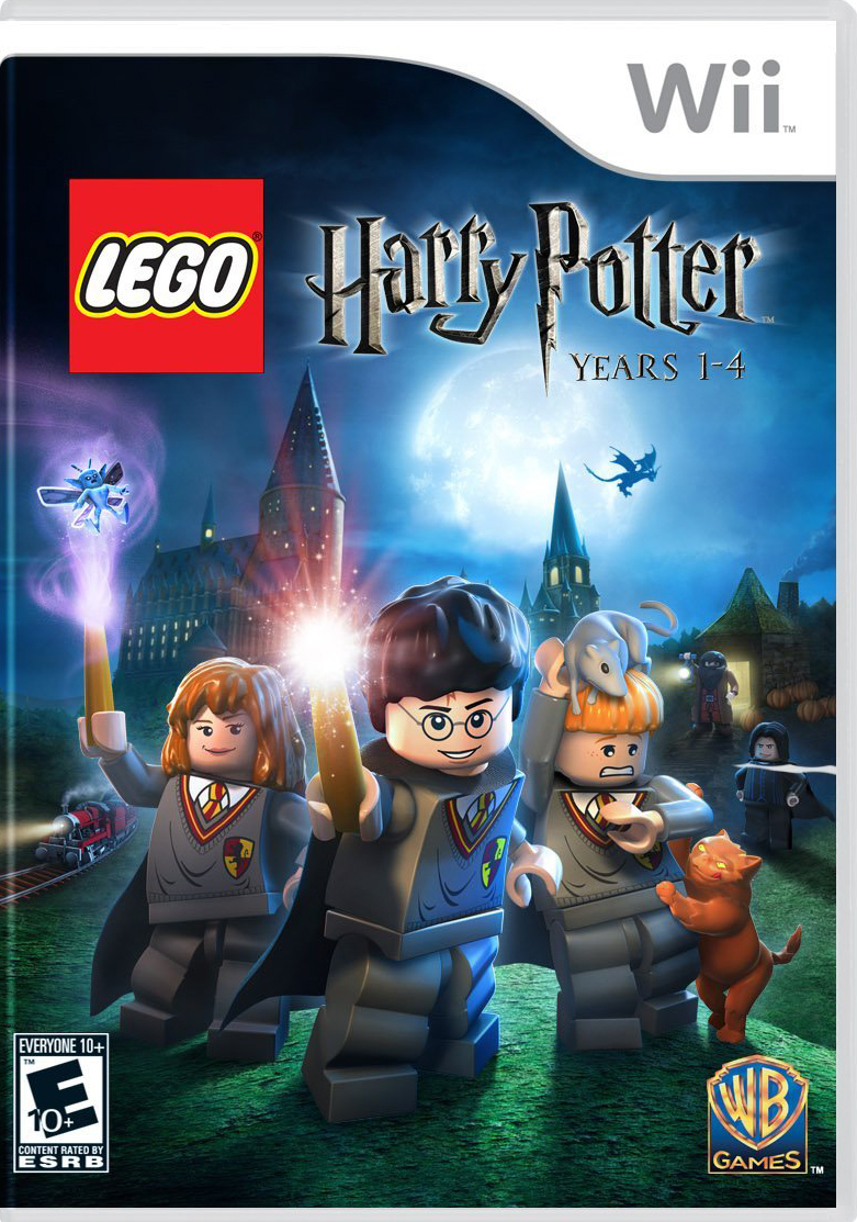 Harry Potter Years 1-4