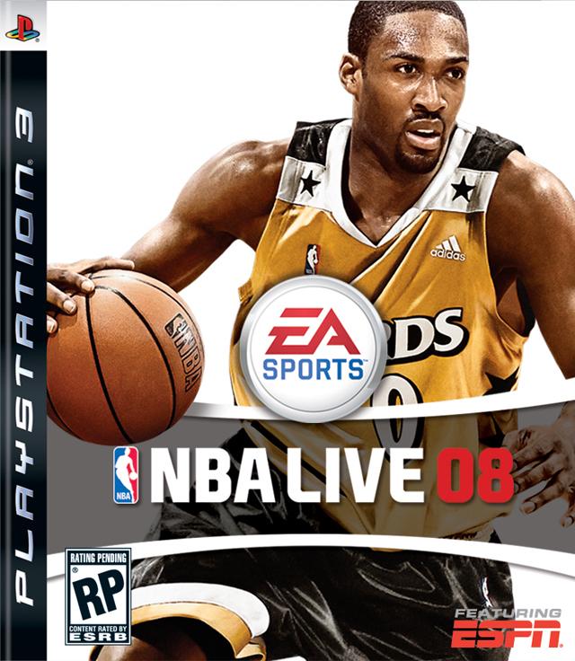 NBA Live 2008 08