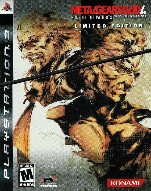 Metal Gear Solid 4 Limited