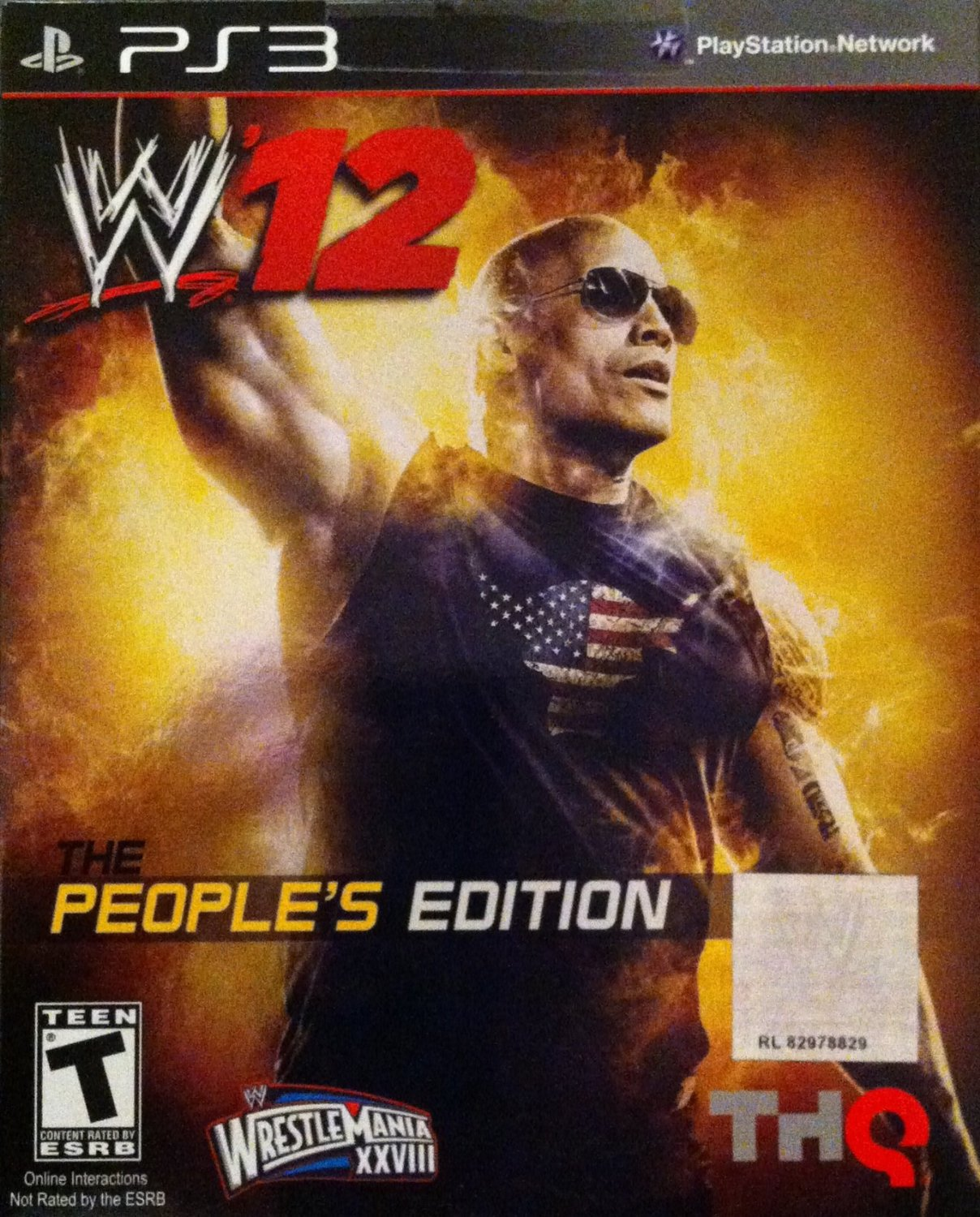 WWE 12: The Peoples Edition