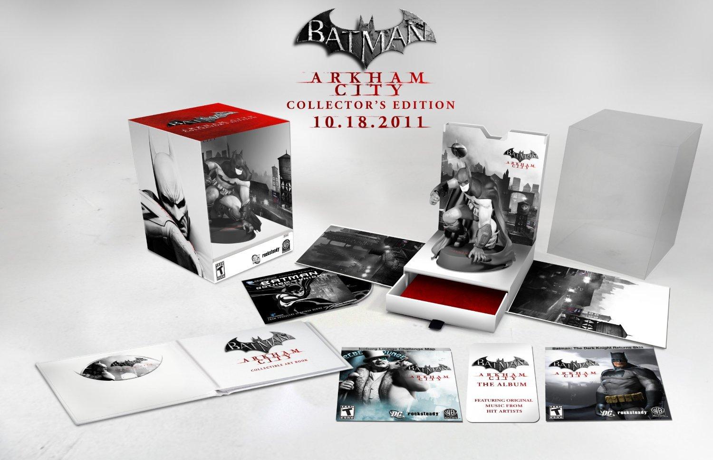 Arkham City Collectors Edition