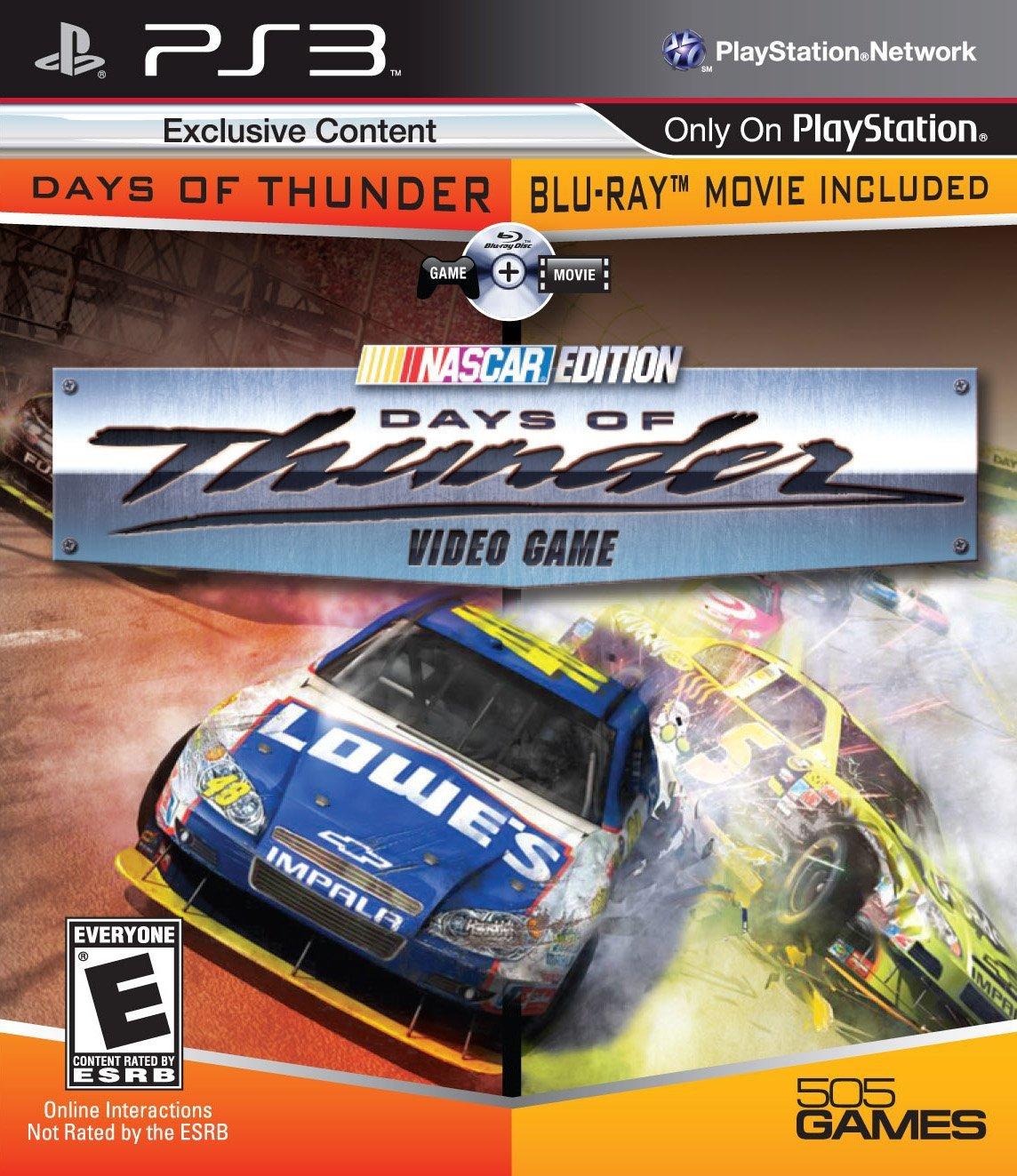 Days of Thunder Video Game