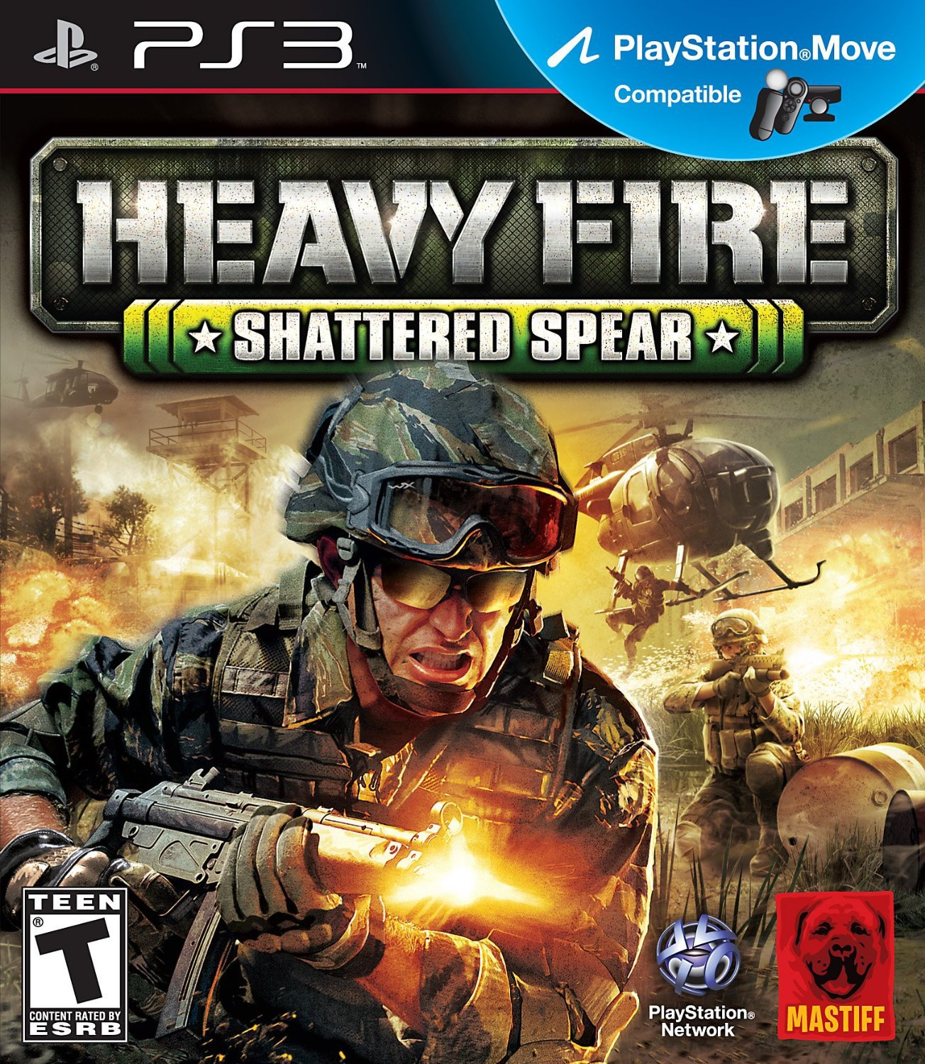 Heavy Fire: Shattered Spear