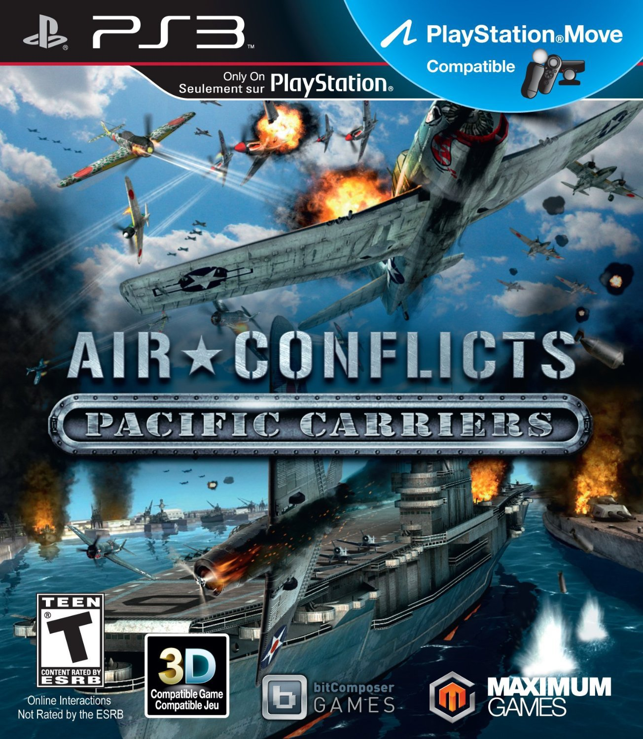 Air Conflicts: Pacific Carrier