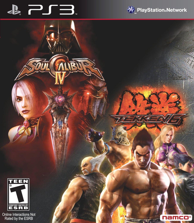 Tekken 6 & Soul Calibur IV