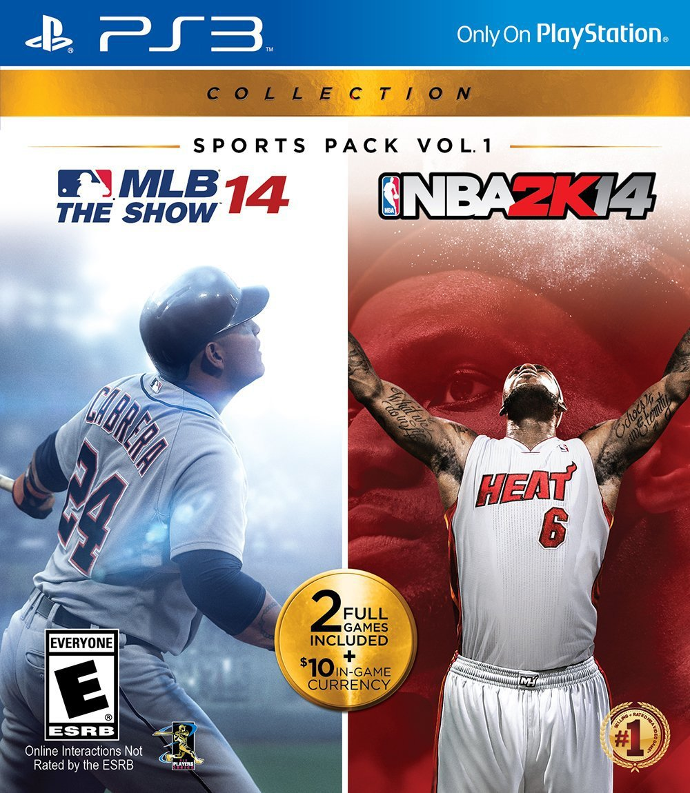 MLB 14: The Show & NBA 2K14