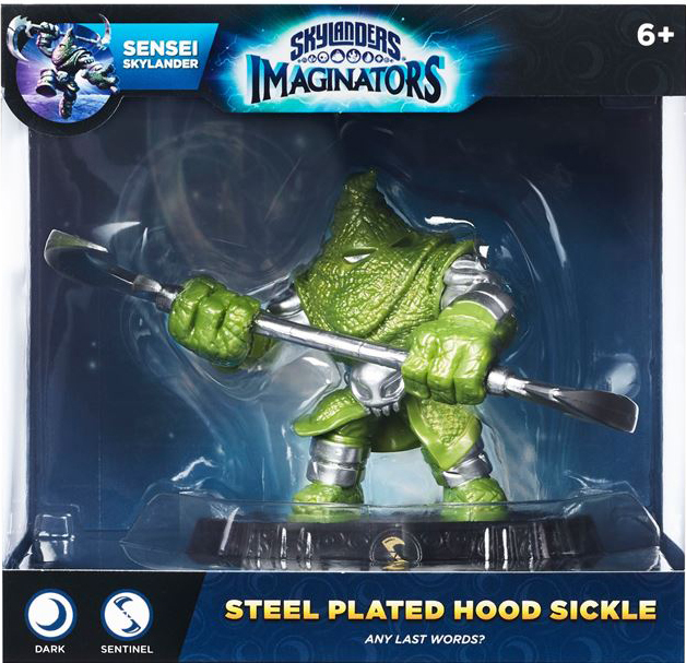 Steel Plated Hood Sickle